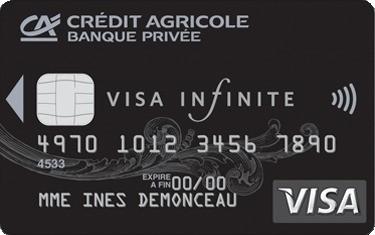 Credit Agricole Centre France Detail Cartes Carte Visa Infinite